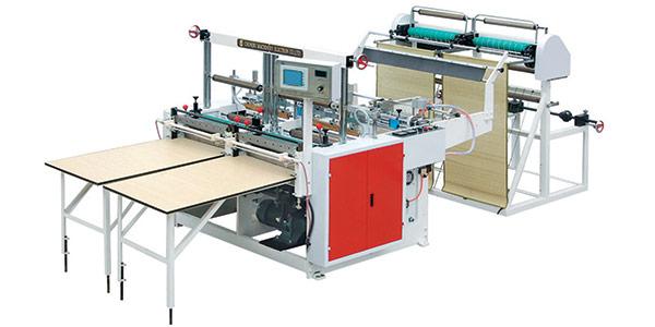 Máy làm túi cắt nguội hai kênh CQC-800