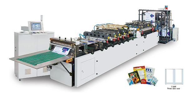 Máy làm túi ba biên tự động tốc độ cao KMM-600T