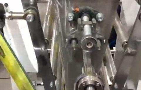 Máy làm túi cắt nguội thả đáy, gấp biên CQCR-500